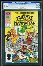 MUPPETS TAKE MANHATTAN #1 1984 -CGC 9.6 -MARVEL- 0207093045 - $90.94