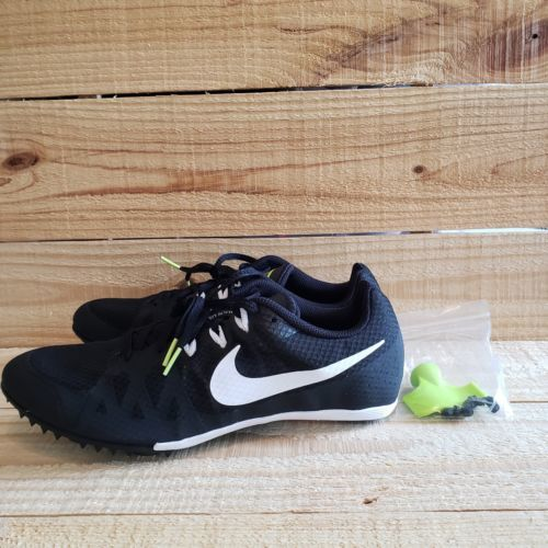 0e8bb3a2046 Nike Zoom Rival M8 Black White 806555-017 Track Field Spikes Mens Size 11.5