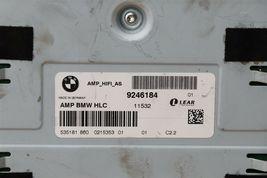Bmw E90 Hifi System Audio Radio Stereo Speaker HLC Amplifier 9246184 image 6