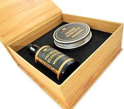 Naturenics Premium Beard Oil & Balm Wax Unscented Kit- Made with 100% Pure, Orga image 2