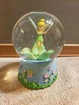 Disney Snow Globe Snowglobe Tinkerbell Tinker Bell ~ Music Not Working - $39.59