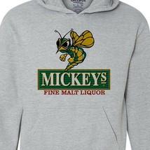Mickeys Irish Malt Liquor Beer Hoodie 80s retro beer cotton graphic sweatshirt image 2