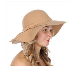 Womens Dressy Floppy hat with bow - $24.99