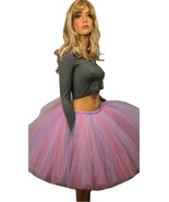 Extra Full Cotton Candy Color Tutu - Available in Adult and Child Sizes - $20.00+