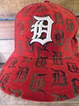 Detroit Tiger Baseball MLB New Era Angepasst 7 1/2 Kappe Hut - $19.09