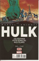 Marvel Knights Hulk One Of Four Transforme Action Adventure Mystery - $2.95