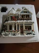 """Thomas Kinkade """"Twas The Night Before Christmas"""" House Rare - $197.51"""