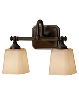"""Feiss VS19702-ORB Concord 2 Light 14"""" Oil Rubbed Bronze Vanity Strip Wal... - $151.95"""