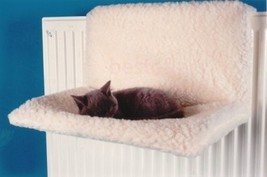 Cat Warm Bed Radiator Pet Small Dog Relax Calming Heater Bed Strong Meta... - $17.22