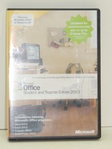 Microsoft Office Student and Teacher Edition 2003 - $19.75