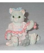 Enesco Calico Kittens 1992 A Good Friend Warms The Heart Figurine #C10/662