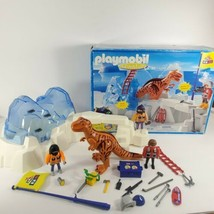 Playmobil 3170 Dinosaur T Rex Discovery Team Expedition Ice Explorer (bc) - $25.74