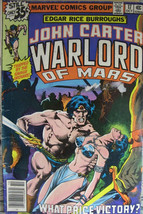 John Carter Warlord of Mars #17 Marvel Comics Bronze Age 1978 VG - £3.32 GBP