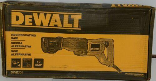 DeWALT DWE304 Reciprocating Saw Corded 10 AMP Flush Cutting New in Box