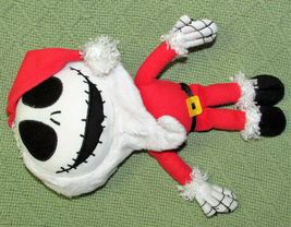 """DISNEY KCARE JACK SKELLINGTON SANTA CLAUS PLUSH NIGHTMARE BEFORE CHRISTMAS 9"""" image 3"""