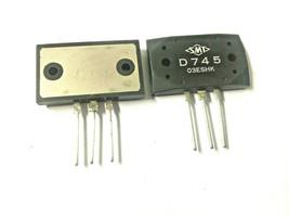 2SD745 Si-NPN-S/L.140V/10A/ 120W2SD745 Si-NPN-S/L.140V/10A/ 120W  SMT - $9.85