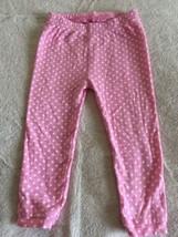 Just One You Girls Pink White Polka Dots Snug Fit Pants Elastic Waist 18... - $3.00