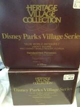 Dept 56 Disney Parks Village 53511 Olde World Antiques I & II LIBERTY SQ... - $24.70