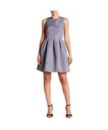 Ted Baker London Embellished Skater Dress, Grey, 2 - $128.70