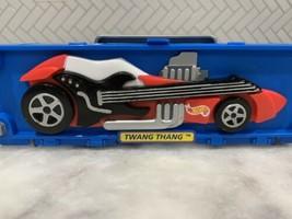 1998 Mattel HOT WHEELS TWANG THANG Six 6 CAR CASE With 6 Rare Cars. Get ... - $50.00
