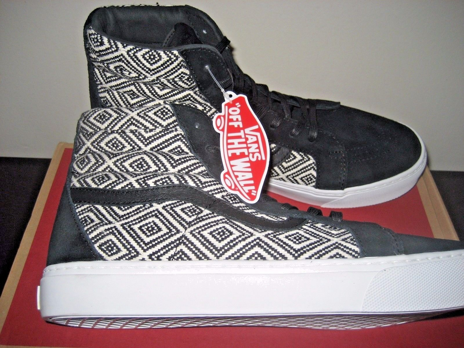 0ba0074175af95 Vans Sk8-Hi Cup + Mens Textile Black Skate and 29 similar items. 57