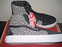 37ea56279d Vans Sk8-Hi Cup + Mens Textile Black Skate shoes Size 10.5 VN0004O91HZ.