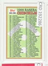 1988 Topps #373 Checklist 265 - 396 192286 - $0.98