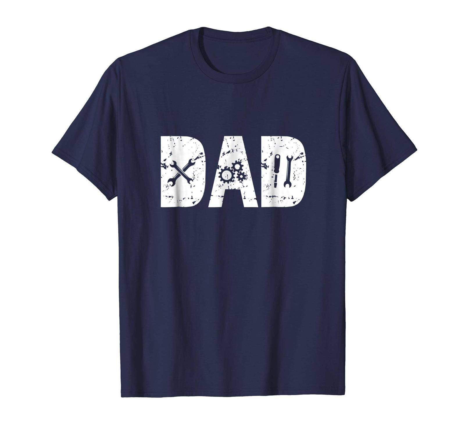 Dad Shirts - Funny Dad Gift Mechanic Shirts for Men Fathers Day 2018 Tee Men image 1