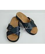 Giani Bernini Womens Balii Open Toe Casual Slide Sandals Black Size 6.5 M - $29.00
