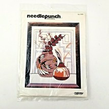 Vintage 1980 Needlepunch Embroidery Kit Craftways Indian Summer #1838 NE... - $15.95