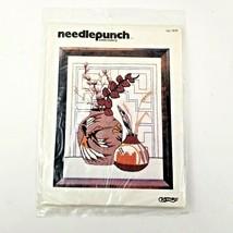 Vintage 1980 Needlepunch Embroidery Kit Craftways Indian Summer #1838 NE... - $15.95