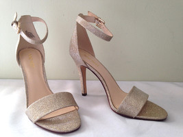 NEW! Nine West Gorgeous Gold NW7 AURELIA Sexy Ankle Strap Classic Heels ... - $86.00