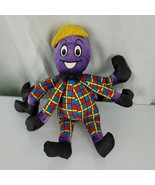 Vintage The Wiggles Henry The Octopus Plush Stuffed Animal Singing Spin ... - $22.76
