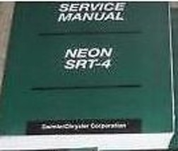 2004 DODGE NEON SRT-4 SRT 4 Service Repair Shop Workshop Manual New Factory - $197.99