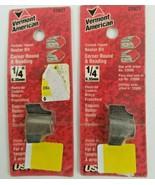 "Vermont American 22627 Carbide Tip 1/4"" Corner Round & Beading (Set of 2)  - $12.82"