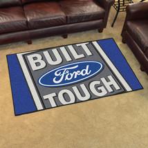 FANMATS Built Ford Tough Area Rug 4 x 6 Blue - $129.99
