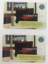 STARBUCKS Red Chair 2004 Gift Card No Value (Qty 2) - $13.09