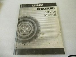 Suzuki 2006 LT-R450 Service Manual P/N 99500-44060-03E - $49.15
