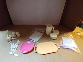 Barbie Dream Collection Dishware 1970-1980's (White) - $12.00