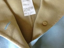 Louis Feraud Finition Main Baby Blue Blazer Jacket Made in Italy No Size Tag image 8