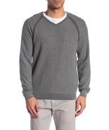 Tailor Vintage Reversible V-Neck Sweater Gray & Charcoal Men's Large 959... - $24.75