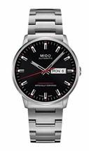 Mido M0214311105100 Commander II Mens Watch - Black Dial Stainless Steel... - $1,143.69