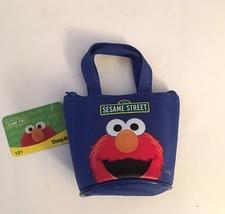Elmo Sesame Street Purse/Mini Tote— More Fun Character Coin Purses Available Too