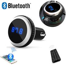 Car MP3 Audio Player Bluetooth FM Transmitter  FM Modulator Car Kit - £41.53 GBP