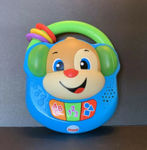 FISHER PRICE LAUGH & LEARN SING PUPPY MUSIC PLAYER BABY TOY LIGHTS SOUND... - $4.99