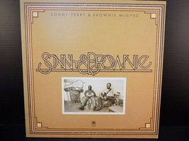 Sonny Terry Brownie McGhee 1973 Original A&M SP 4379 record album vinyl ... - $7.91