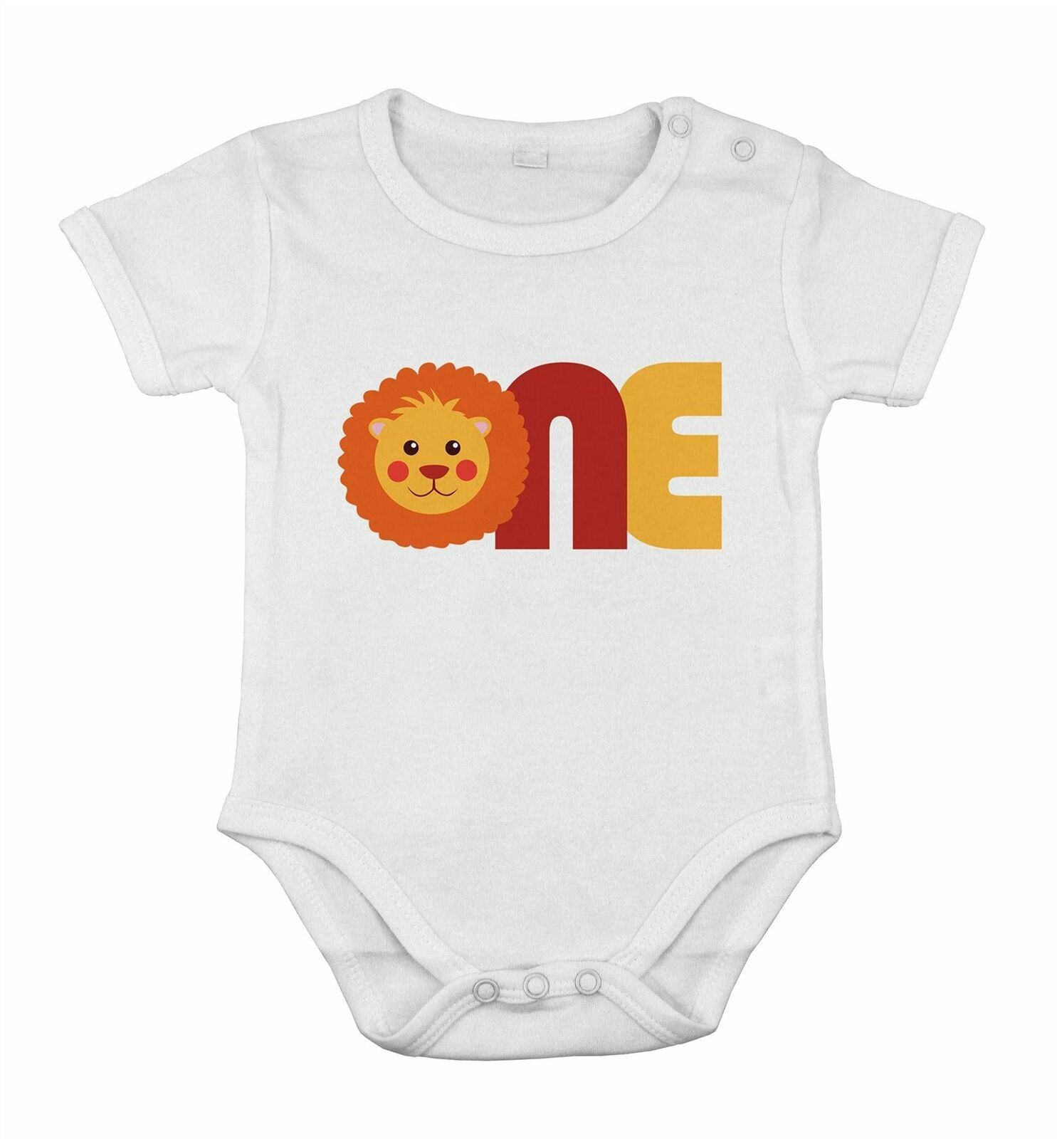 First One 1st Birthday Baby Lion Cotton special idea suit - $13.37