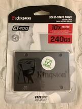 "Kingston 240GB A400 SATA 3 2.5"" Internal SSD SA400S37/240G  - $31.95"