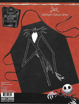 The Nightmare Before Christmas Jack Be The Character Adult Polyester Apr... - $11.64