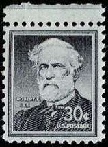 1955 30c General Robert E. Lee, Civil War Scott 1049 Mint F/VF NH - $1.94
